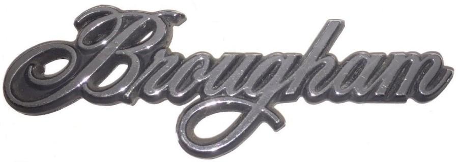 brougham emblem